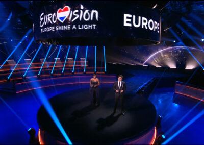 Logo Shine a light, Songfestival, 2020, esc, esf, studio mau, studio altemuhl